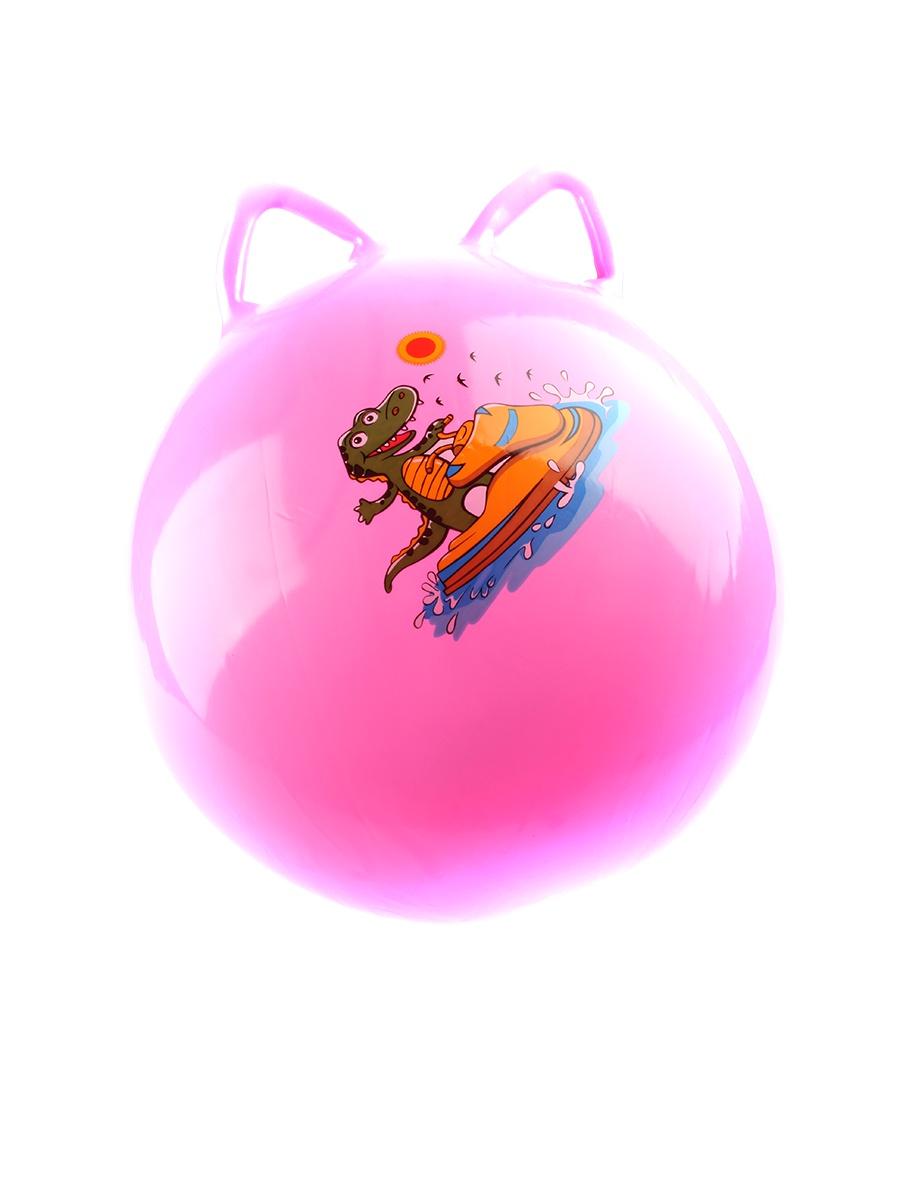 купить Мяч для фитнеса TipTop Мяч прыгун, розовый по цене 800 рублей
