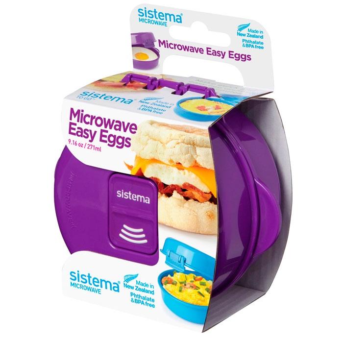 Контейнер пищевой Sistema 21117_Фиолетовый, фиолетовый