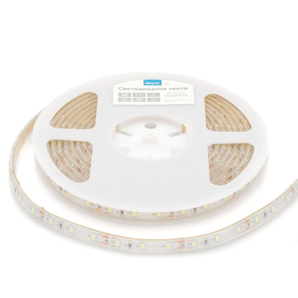 Светодиодная лента APEYRON electrics 00-126 светодиодная лента apeyron electrics комплект 10 14