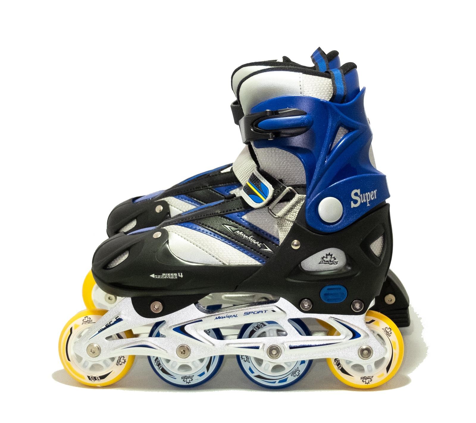 Коньки раздвижные роликовые коньки роликовые ridex scout раздвижные цвет серый голубой белый ут 00008094 размер 35 38