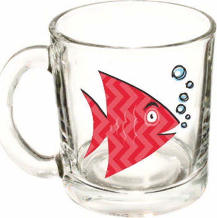 Кружка ОСЗ Чайная Рыбки, в ассортименте, 300 мл кружка осз чайная радужные цветы 300 мл