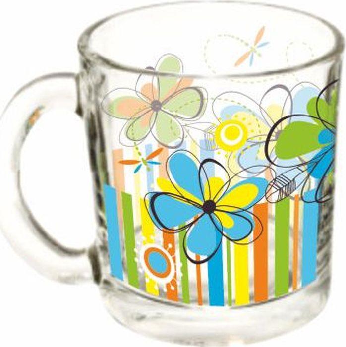 Кружка ОСЗ Чайная Радужные цветы, 300 мл кружка осз чайная радужные цветы 300 мл