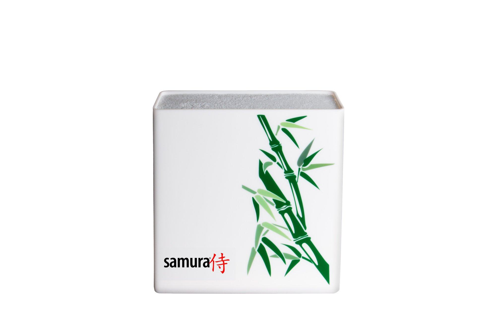 Подставка для ножей Samura KBH-101BW/Y, белый