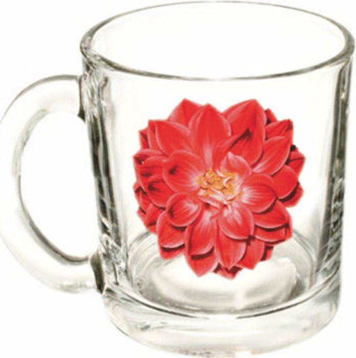 Кружка ОСЗ Чайная Георгин красный, 300 мл чайная кружка orval чайная кружка