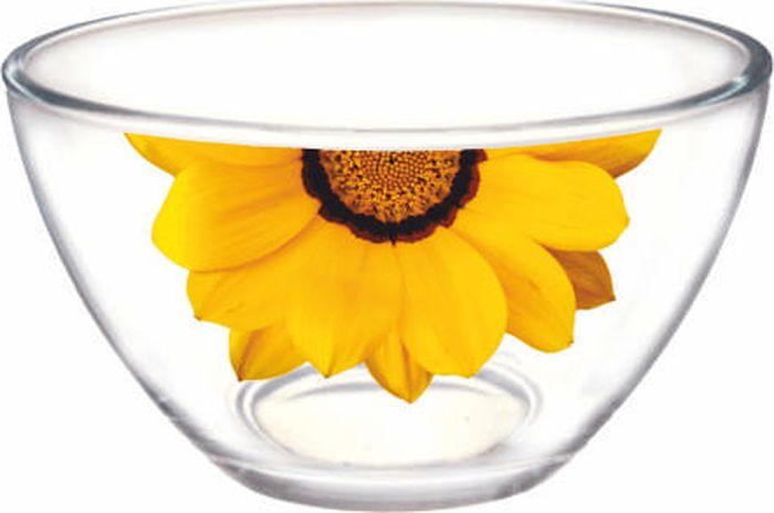 Салатник ОСЗ Гладкий Георгин желтый половинка, диаметр 18,8 смOCZ1326GEOJ/P