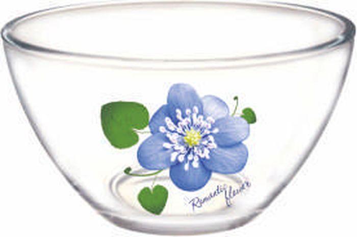 Фото - Салатник ОСЗ Гладкий Цветок Романтика, диаметр 11 см салатник 23 см мейсенский цветок