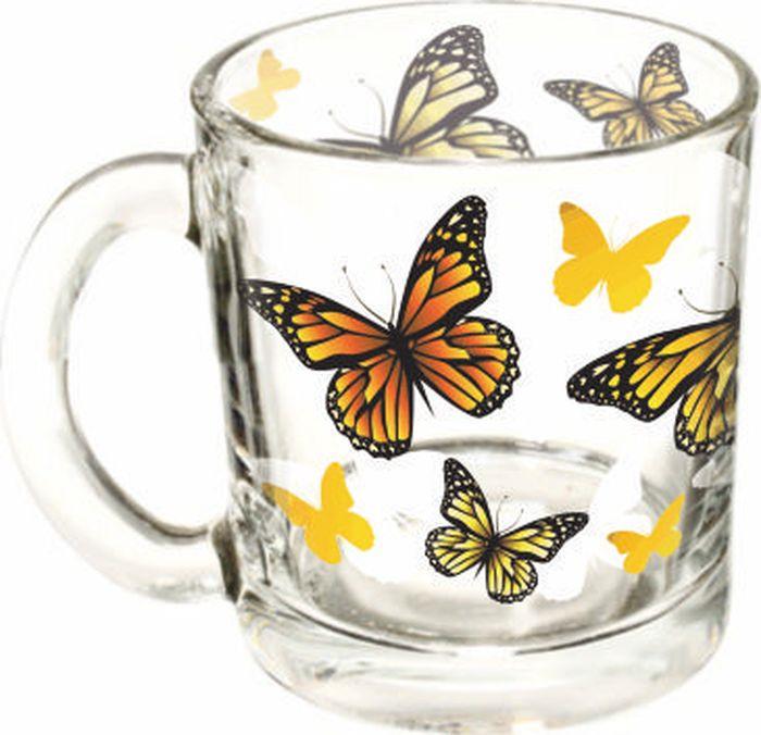 Кружка ОСЗ Чайная Желтые бабочки, 300 млOCZ1208/1BBJT