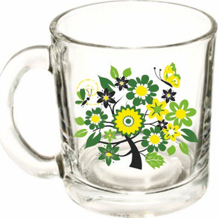 Кружка ОСЗ Чайная Яркое лето, в ассортименте, 300 мл кружка осз чайная радужные цветы 300 мл
