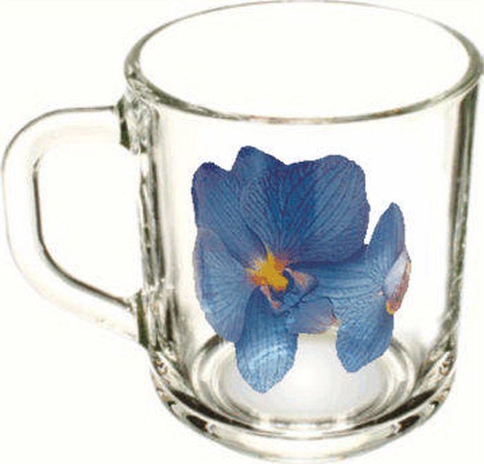 Кружка ОСЗ Green tea Орхидея синяя, 200 млOCZ1335/1ORSN
