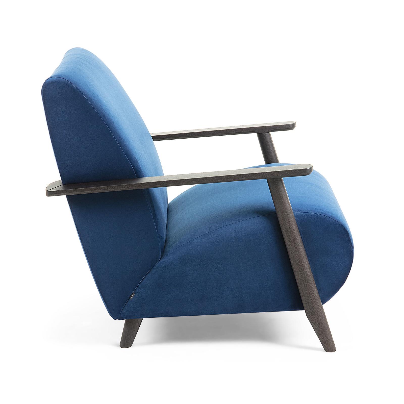 Кресло La Forma (ex Julia Grup) Marthan,S517JU25, синий