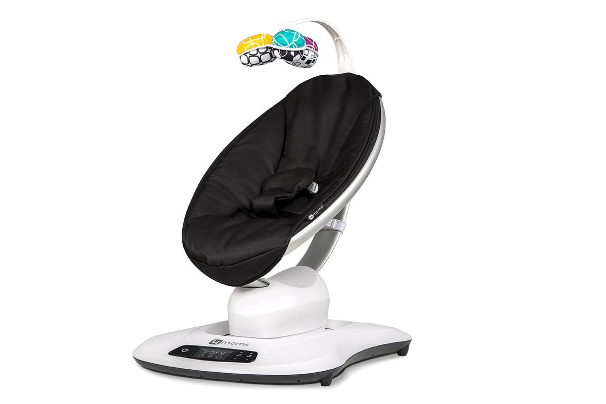Качели для новорожденных 4moms MamaRoo 4.0 - черная