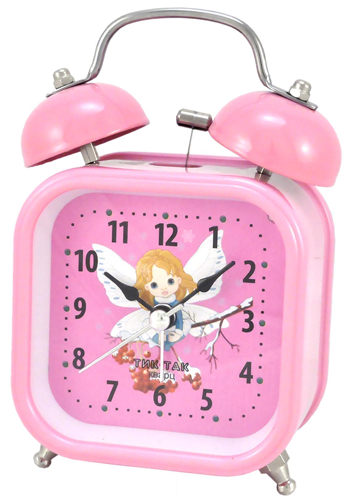 Будильник Тик-Так Б-824, розовый джей гриффитс тик так взгляд на время со стороны