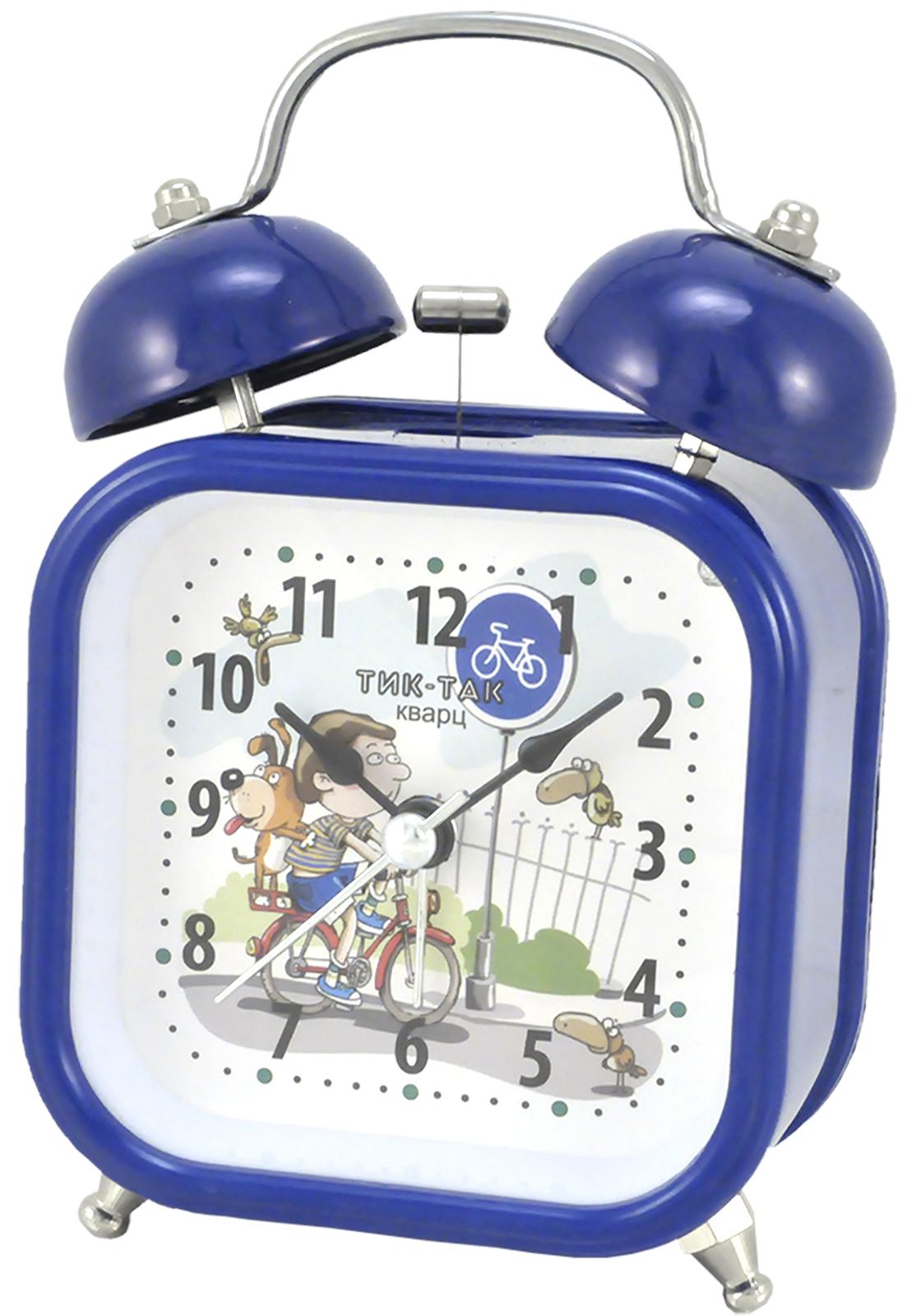 Будильник Тик-Так Б-824, синий джей гриффитс тик так взгляд на время со стороны