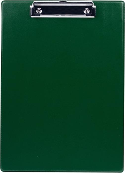 Папка-планшет Durable 4201-32 с прижимом, цвет: темно-зеленый, 35х23см