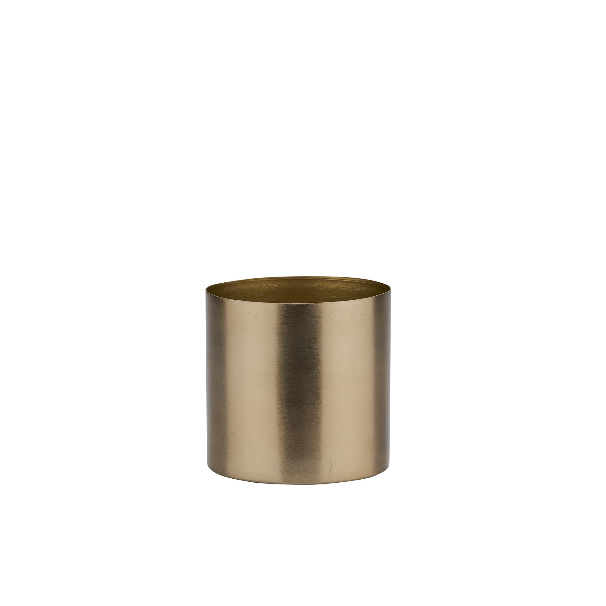 Горшок для цветов Bahne BH432313 золотой горшок