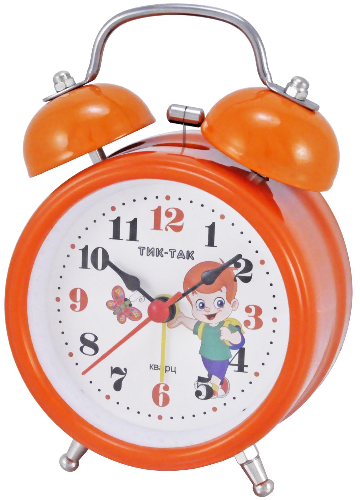 Будильник Тик-Так Б-832, оранжевый джей гриффитс тик так взгляд на время со стороны