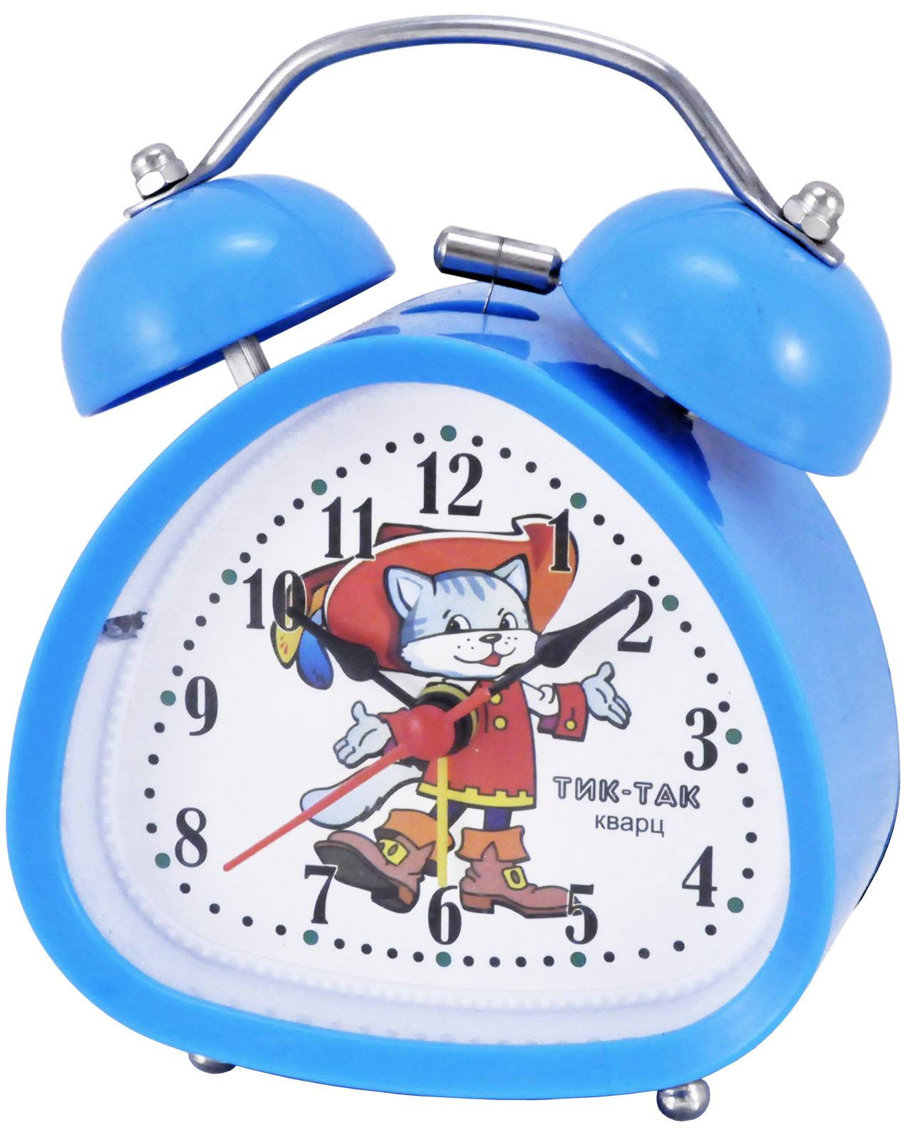 Будильник Тик-Так Б-850, голубой джей гриффитс тик так взгляд на время со стороны