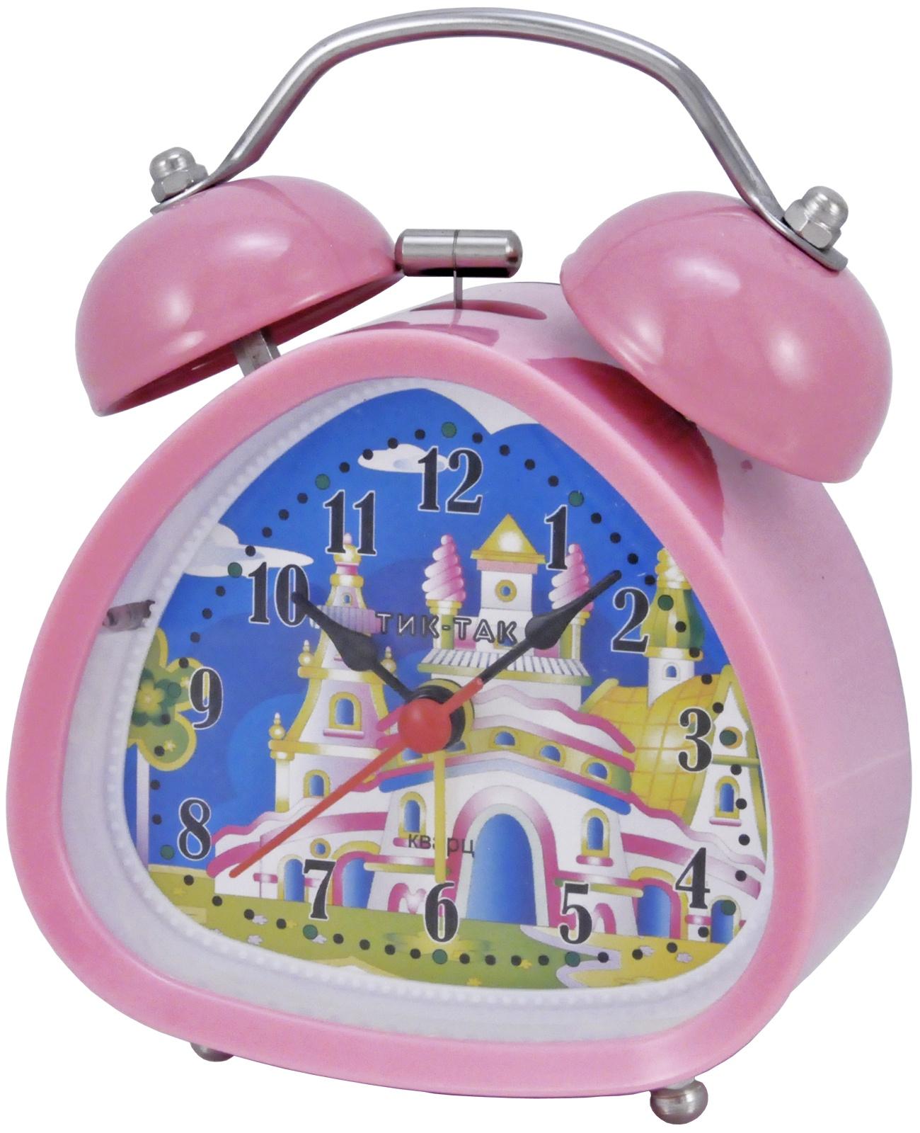 Будильник Тик-Так Б-850, розовый джей гриффитс тик так взгляд на время со стороны