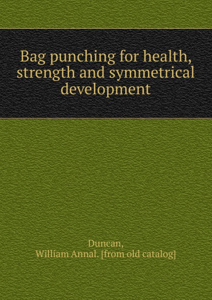William Annal Duncan Bag punching