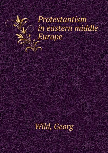 Georg Wild Protestantism in eastern middle Europe недорго, оригинальная цена