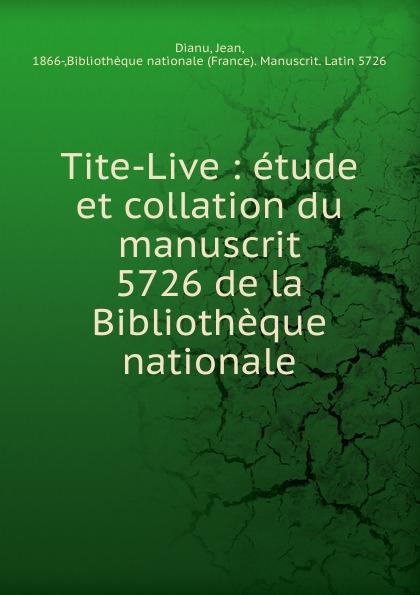 Jean Dianu Tite-Live