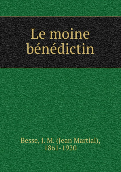 Фото - Jean Martial Besse Le moine benedictin jean paul gaultier le male