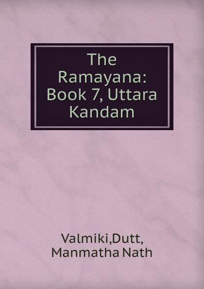 купить Dutt Valmiki The Ramayana по цене 894 рублей