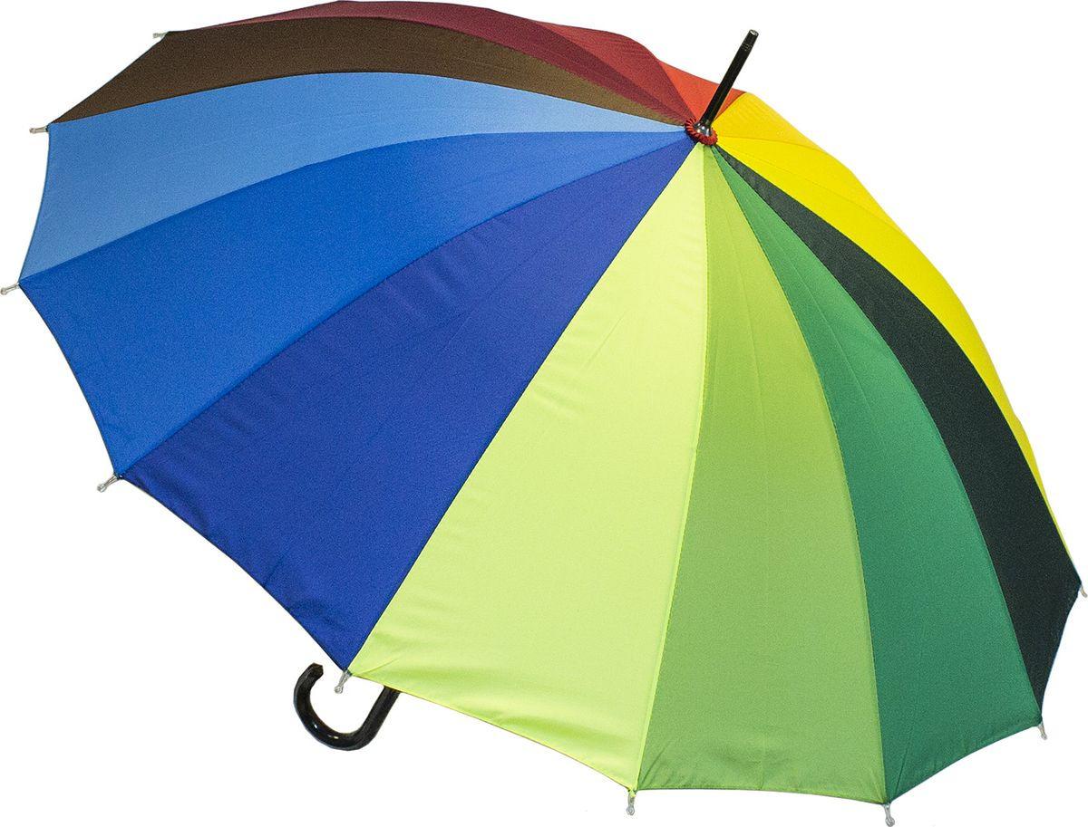 Зонт-трость Эврика Радуга, мультиколор цена и фото