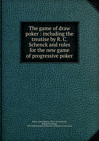 The game of draw poker