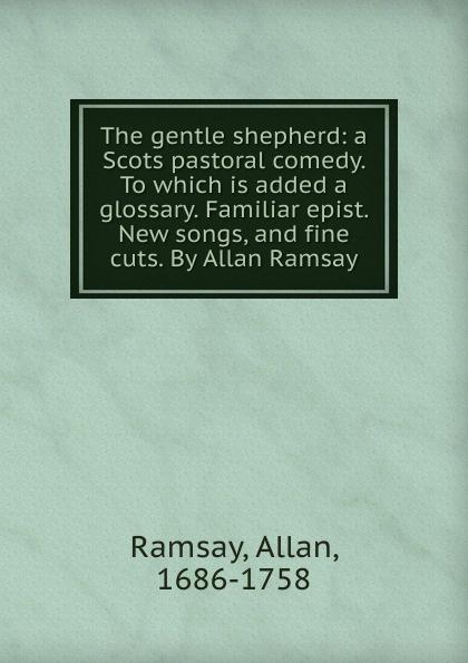 цена Allan Ramsay The gentle shepherd в интернет-магазинах