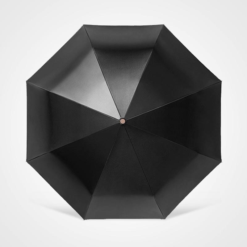 Зонт Maple Leaf Minimalist Art, черный maple leaf print night dress