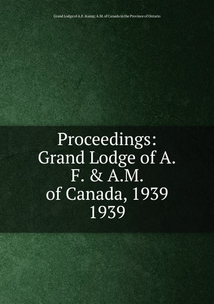 Proceedings. 1939