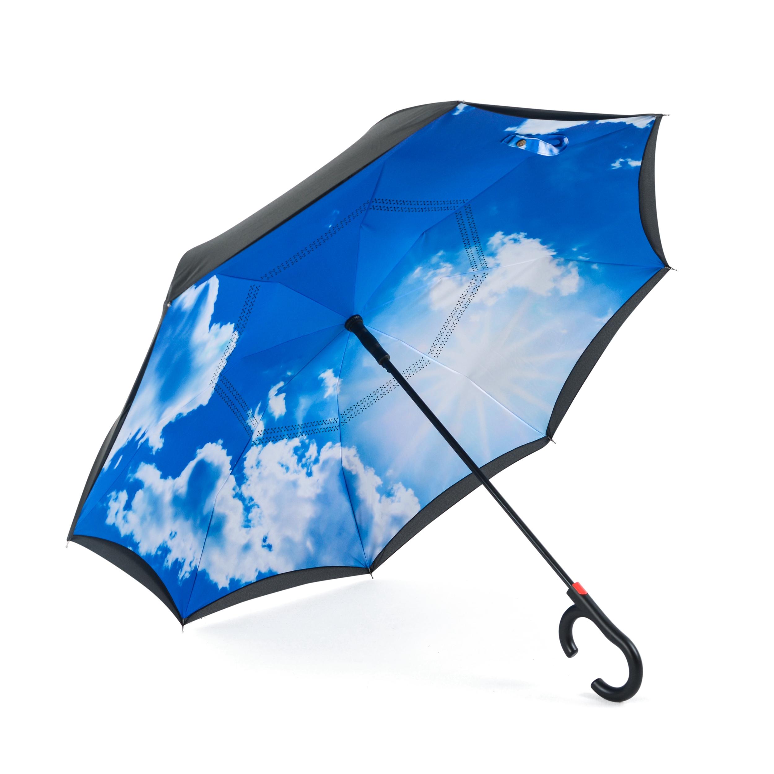 Зонт Maple Leaf обратного сложения