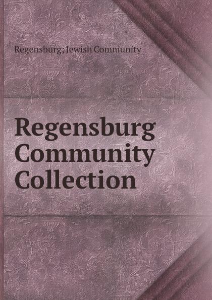 Regensburg Jewish Community Regensburg Community Collection цена и фото