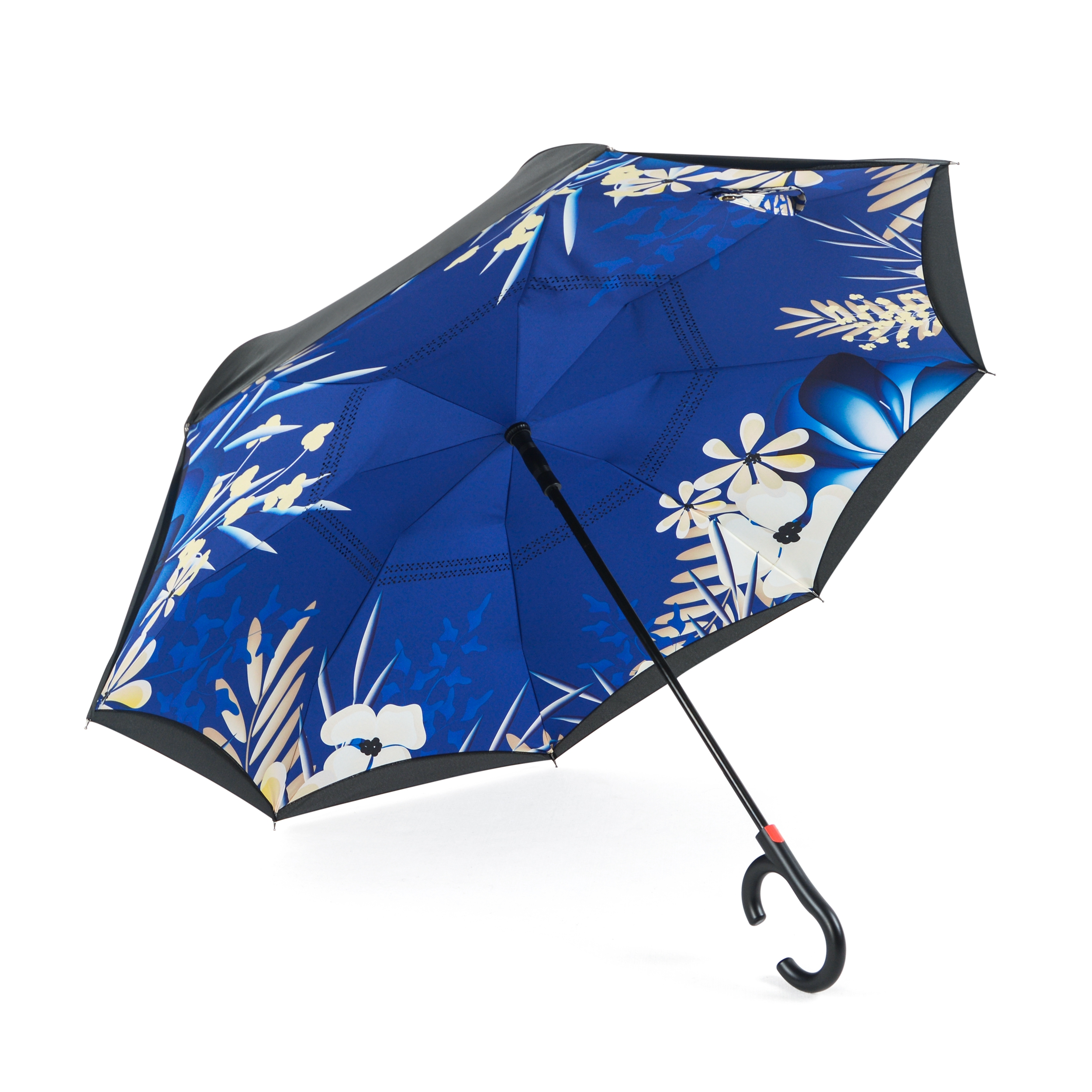 Зонт Maple Leaf обратного сложения, белый maple leaf print night dress