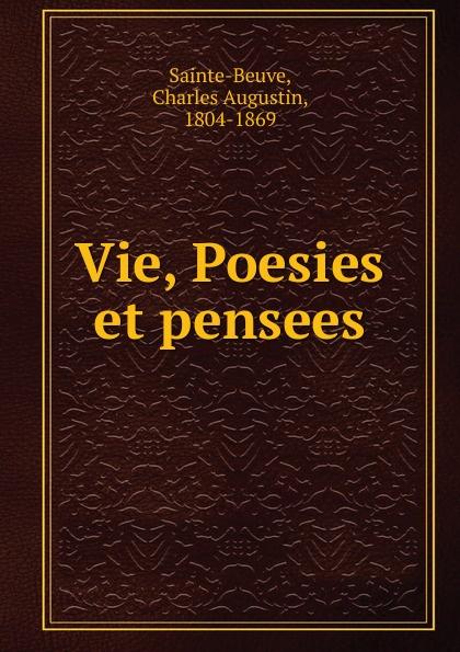 Joseph Delorme Vie Poesies et pensees