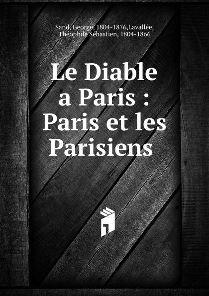Paul Gavarni Le Diable a Paris