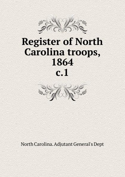 North Carolina. Adjutant General's Dept Register of North Carolina troops william woods holden trial of william w holden governor of north carolina before the senate of north carolina 3