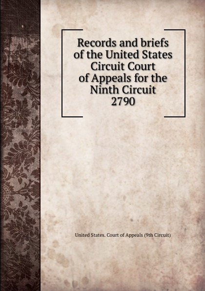 Records and briefs of the United States Circuit Court of Appeals for the Ninth Circuit шкаф для ванной the united states housing