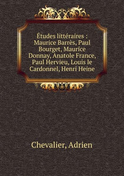 Фото - Adrien Chevalier Etudes litteraires jean paul gaultier le male