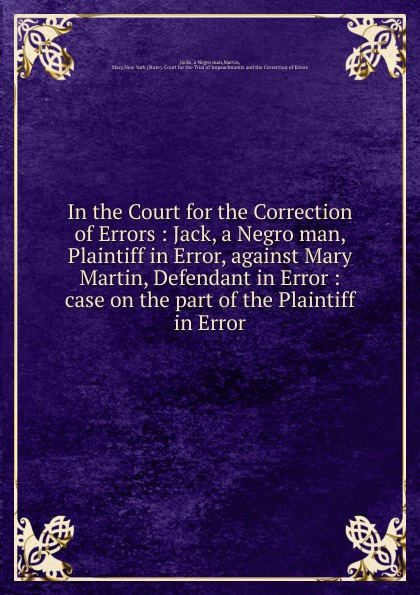 Mary Martin In the Court for the Correction of Errors jean guillaume dumas foundations of coding compression encryption error correction
