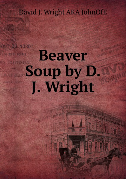 Фото - David J. Wright Beaver Soup by D. J. Wright l d wright the shadow rose