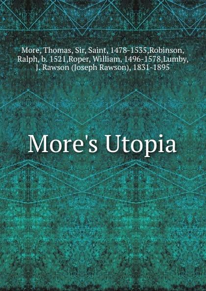 Thomas More More.s Utopia недорого