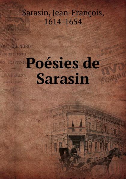 Poesies de Sarasin