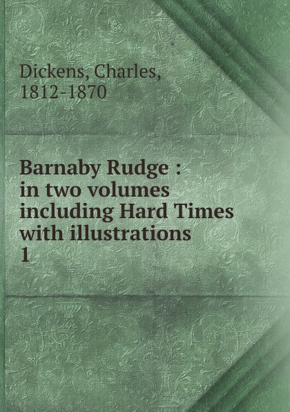 Charles Dickens Barnaby Rudge футболка для девочки united colors of benetton цвет желтый 3096c142l 28m размер xs 110