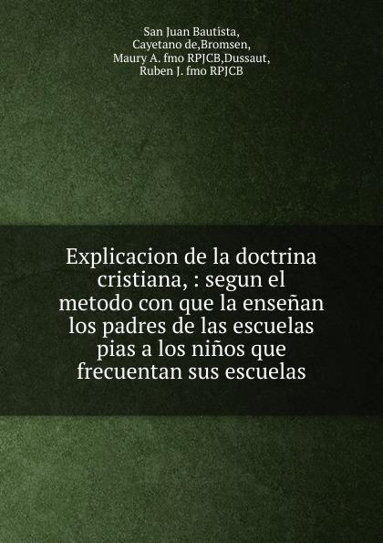 San Juan Bautista Explicacion de la doctrina cristiana agatha ruiz de la prada повседневные брюки