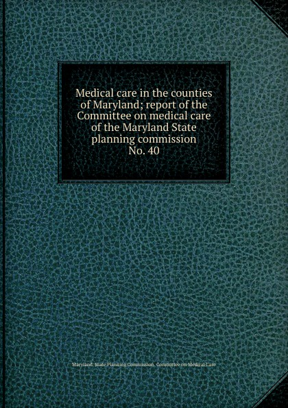 Medical care in the counties of Maryland цены