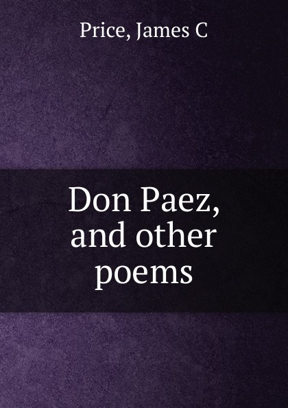 Don Paez, and other poems
