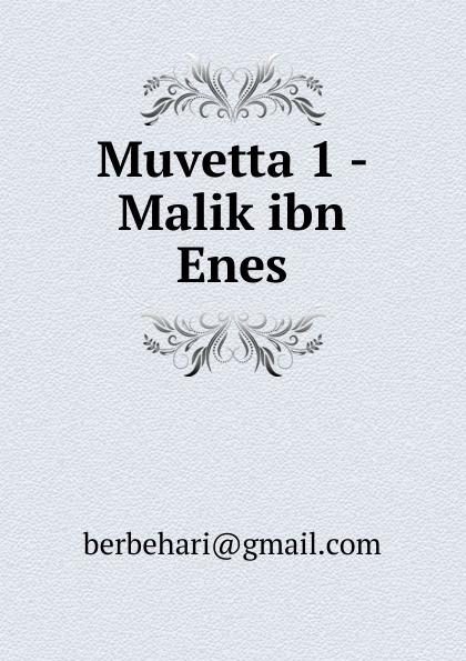 купить Muvetta 1 - Malik ibn Enes по цене 918 рублей