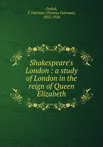 Shakespeare.s London
